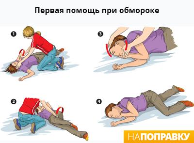 Потеря сознания: причины, первая помощь, симптомы болезни