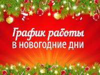 Время работы нашей клиники в новогодние праздники